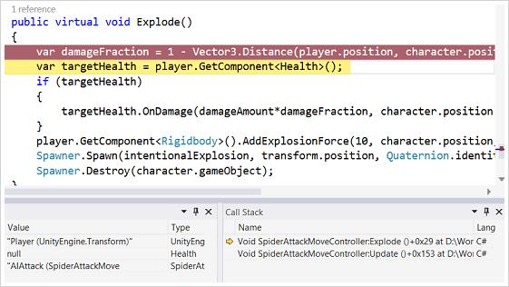 Unity Games Development Tools | Visual Studio