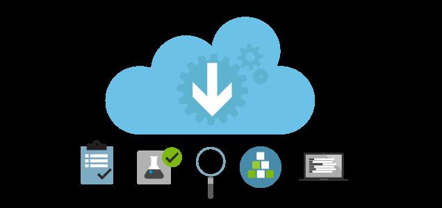 Comprehensive set of cloud services