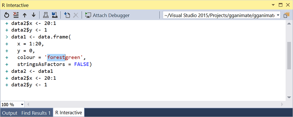 R Development Tools | Visual Studio