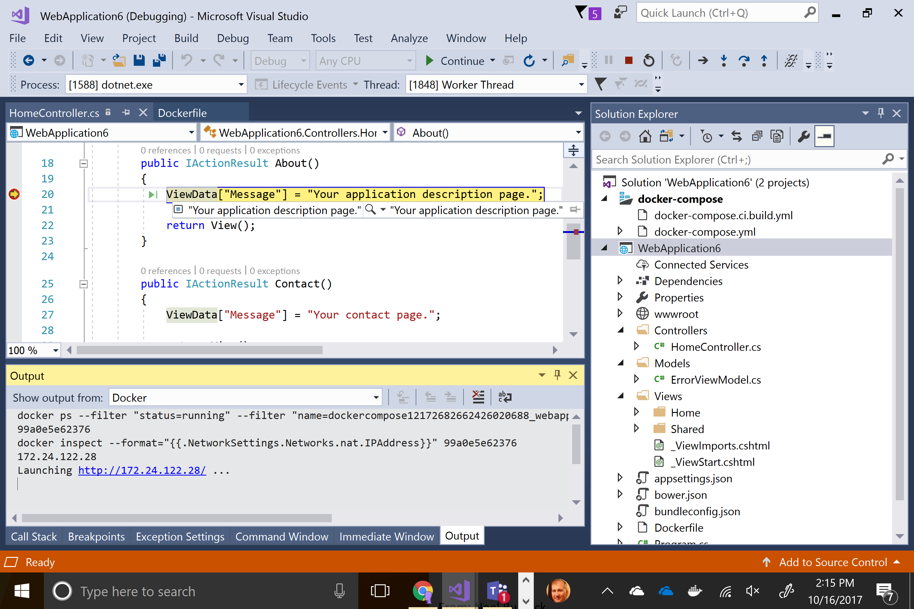 All from within the Visual Studio experience that you already know and love