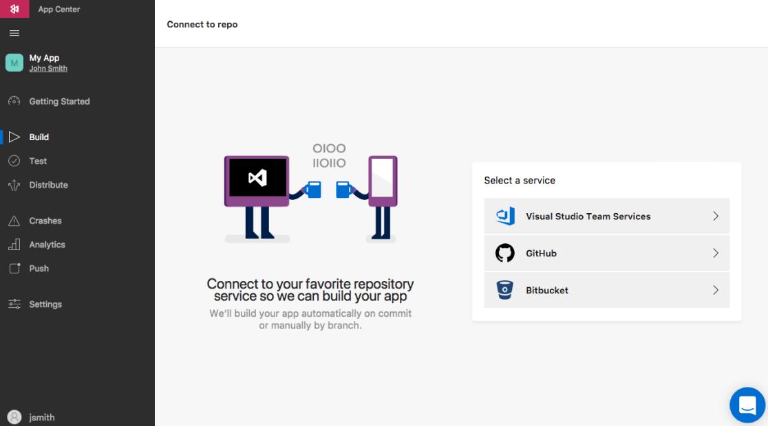 Build a mobile app with Visual Studio App Center - Visual Studio