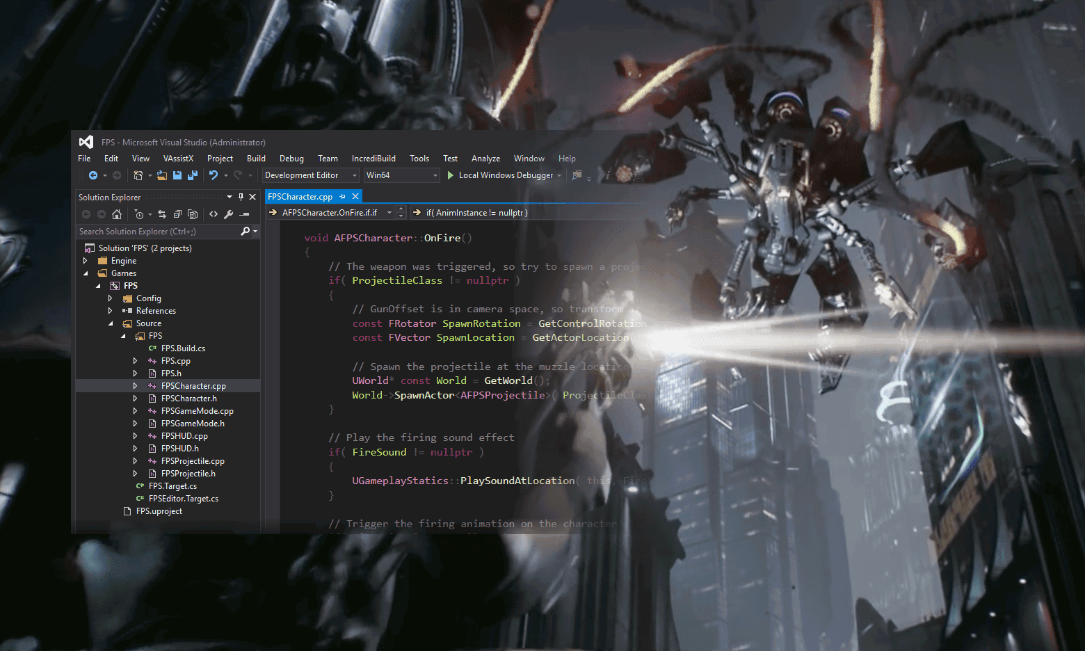 Game Development and Debugging | Visual Studio