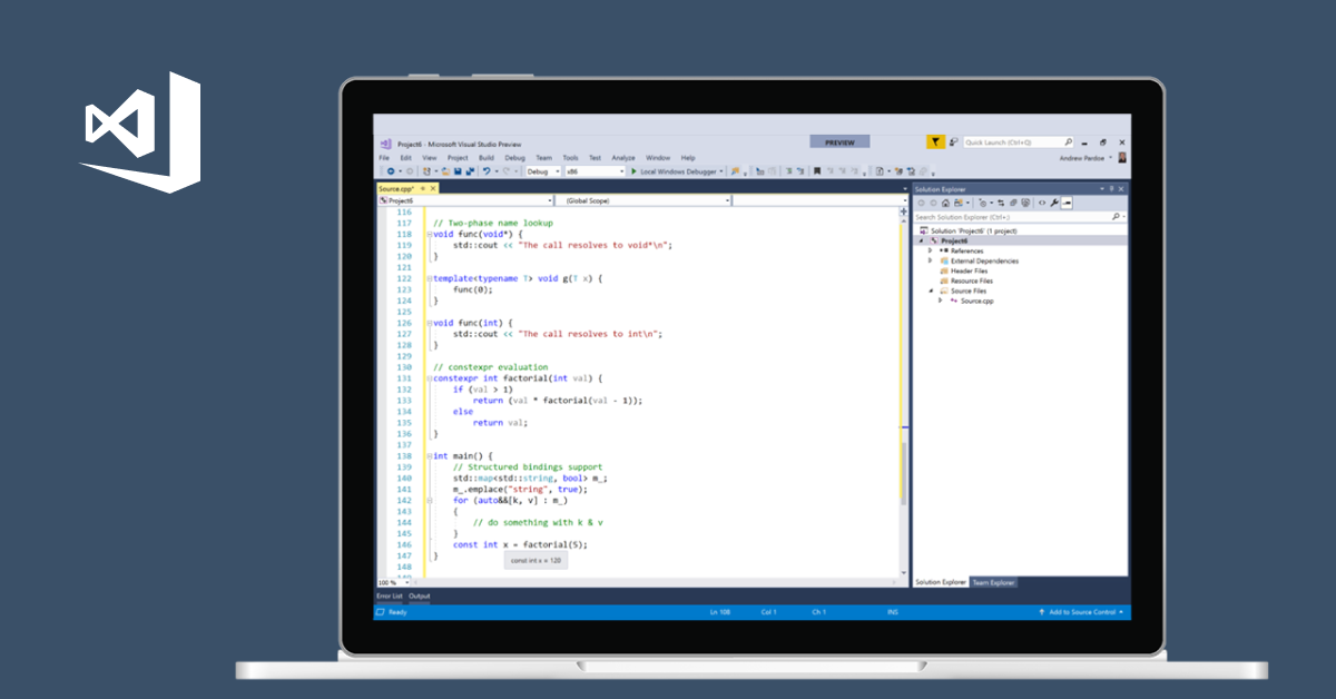 C and C++ Coding Tools | Visual Studio