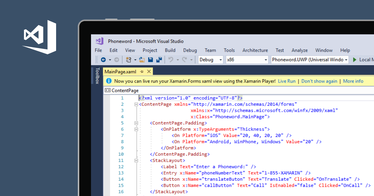 Xamarin App Development with Visual Studio | Visual Studio