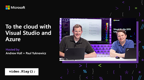 2019 Visual Studio launch video