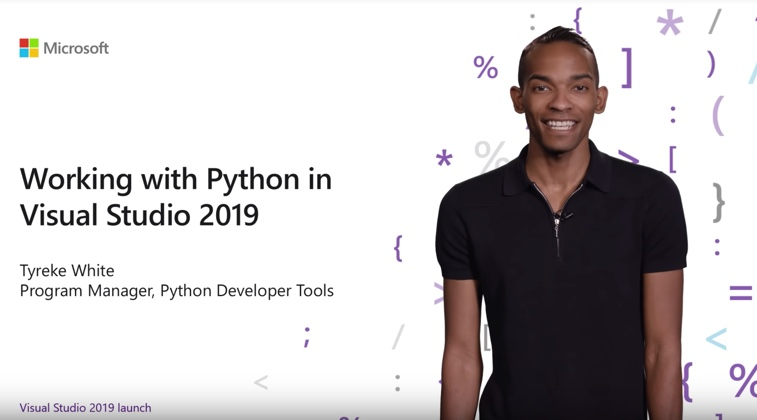 Video of Visual Studio 2019 develop