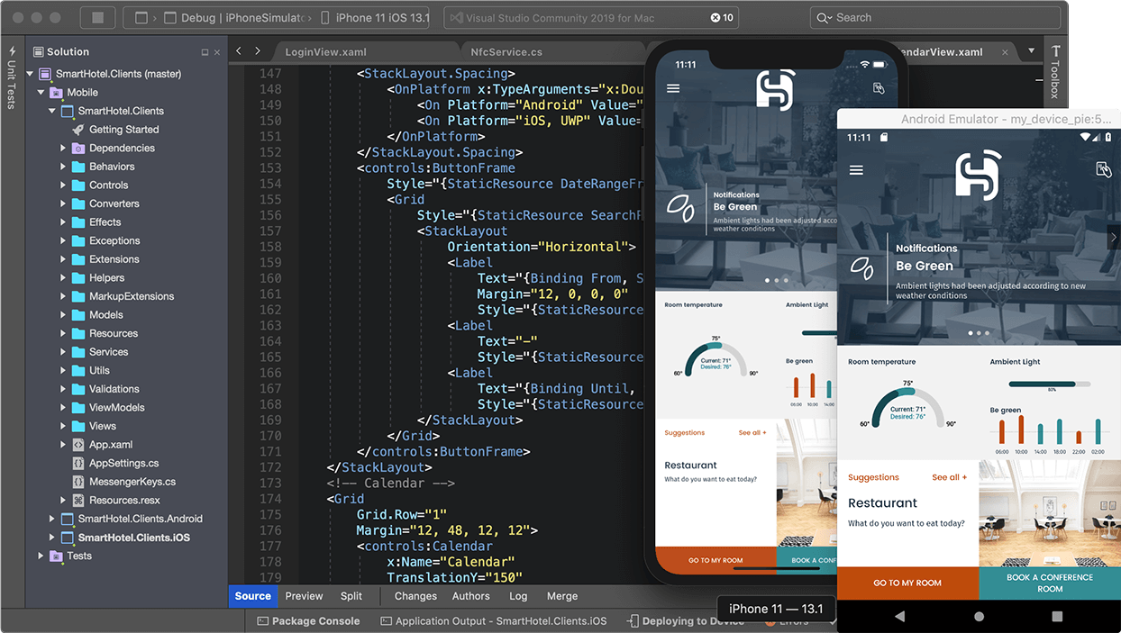 screenshot of build rich native apps