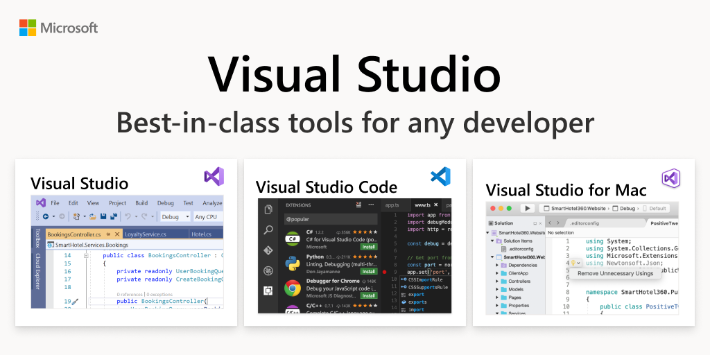 Free Developer Software & Services - Visual Studio