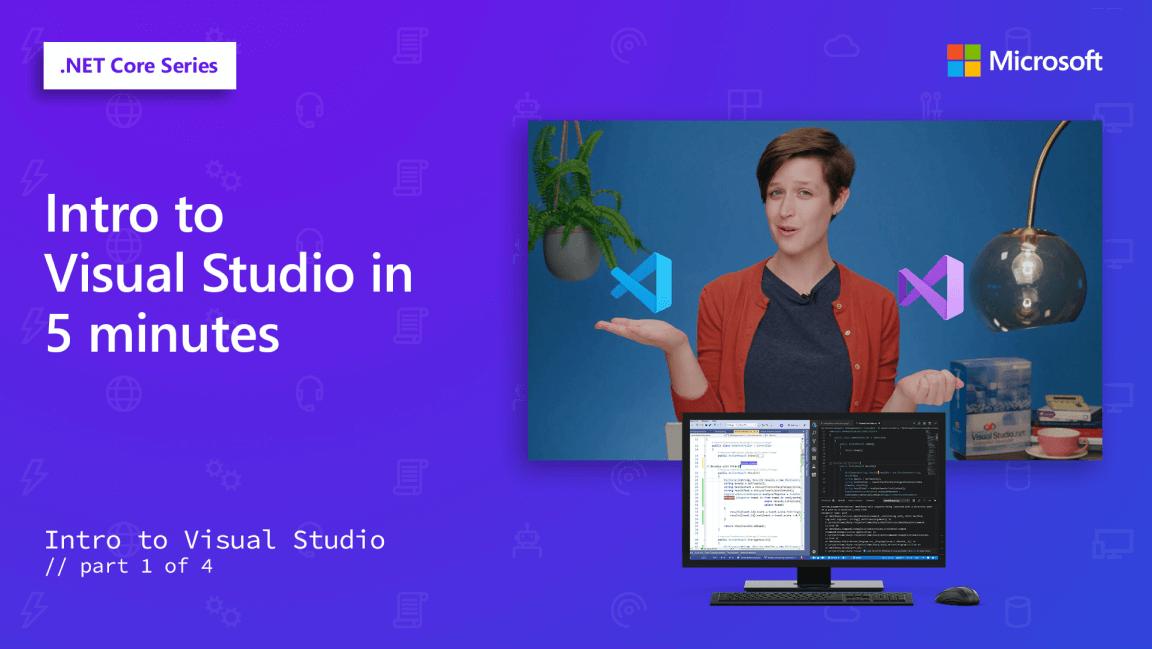 Intro to Visual Studio video screenshot